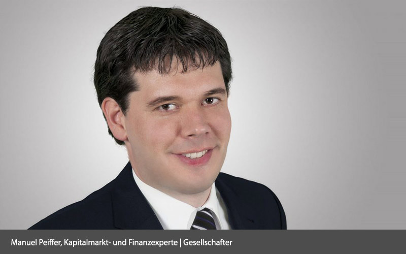 Manuel Peiffer, Kapitalmarkt- und Finanzexperte | Gesellschafter