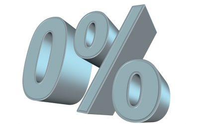Zinsen bei Baufinanzierung fallen – Sind negative Zinsen möglich?
